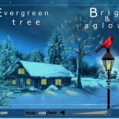 Example of a Christmas E-card.