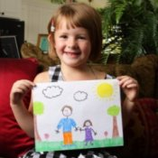 Organizing Your Children's Artwork