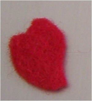 Heart Pin step 1