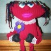 Mopheart Rag Doll  - Full length view of mopheart doll.