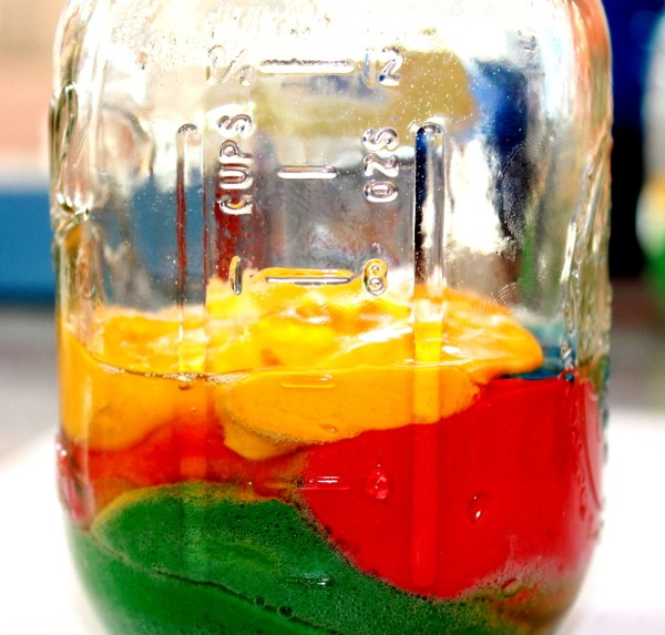 Making Rainbow Cakes in Canning Jars | ThriftyFun