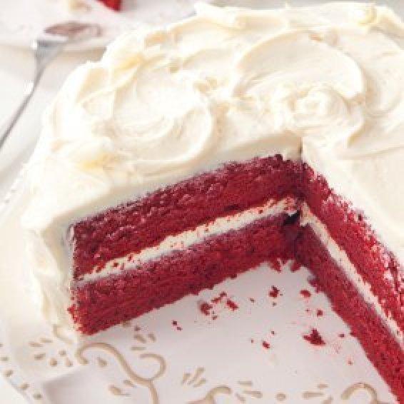 How to make easy red velvet cake at home