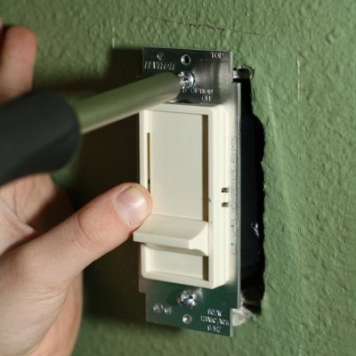 Installing a Dimmer Switch