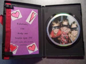 Inside with message and photo on CD.