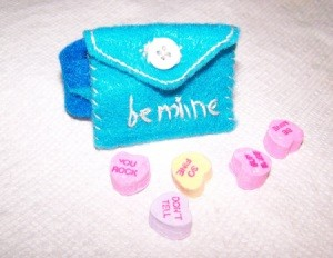 Blue Valentine wrist band