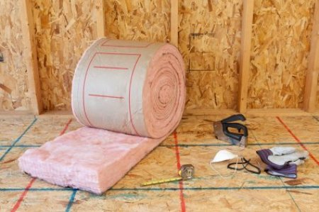 Insulating Your Home, Insulation Ready to Be Installed