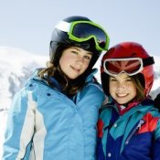 Saving Money a Ski Vacation, Sisters on Ski Vacation