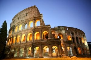 Planning for International Travel, Coliseum at Night