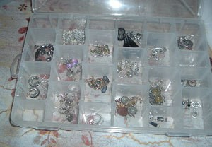 Craft Organizer For Earrings