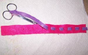Band for Valentine wrist band
