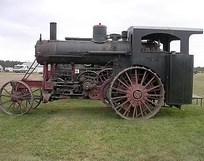 Old Time Tractor (North Dakota)
