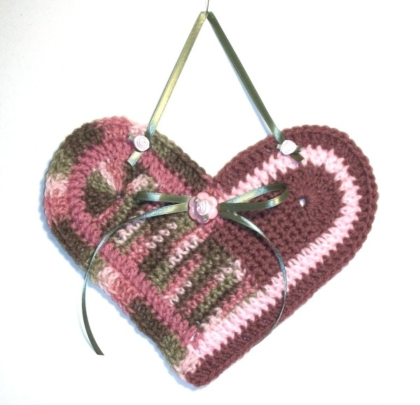 Finished heart.