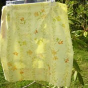 Uses for Pillowcases, Yellow Pillowcase Skirt