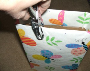 Recycled Box Gift Bag Step 2