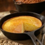 Cooking with cast iron pans.