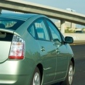 Prius on Freeway