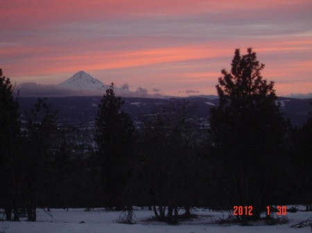 Scenery: Sunset (Lyle, WA)