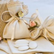 Homemade wedding favor.