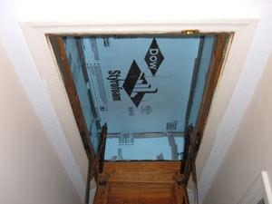 Insulating Hideaway Stairs Thriftyfun