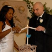 Unity Candle Ceremony (Belleza Wedding Chapel, Las Vegas, NV)