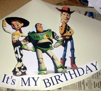 Toy Story party hat.