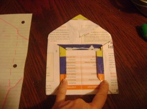 Recycled Paper Envelope Side Fold