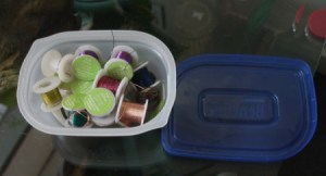 recycling Beneful containers