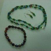 Making Paper Beads Finished