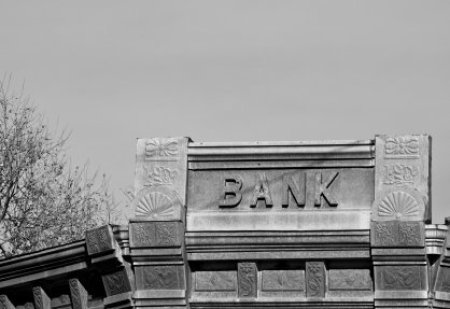 Depression Era Bank