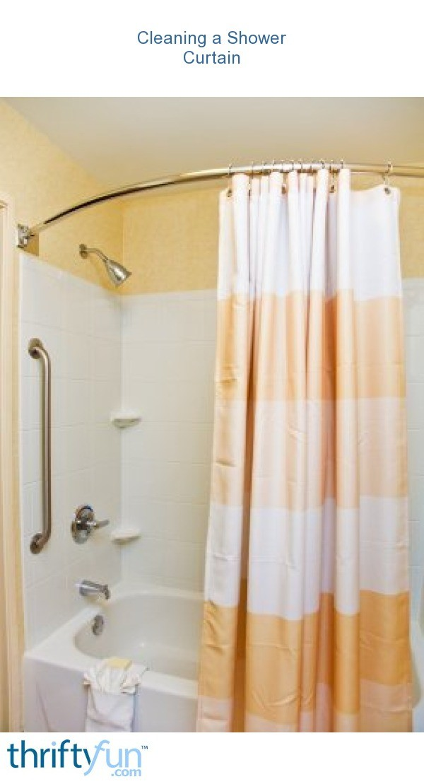 How To Clean Your Shower Curtain How To Clean Shower Curtains Get Rid Of Bathroom Mildew How