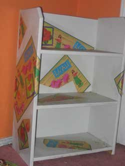 Modge Podge Designer Shelves