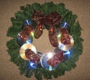 CD Wreath