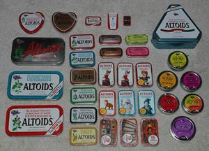 Altoids and Other Mint Tins