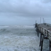 A Stormy Day in Outer Banks North Carolina