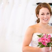 selecting a wedding dress