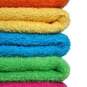 Stack of Colored Towels