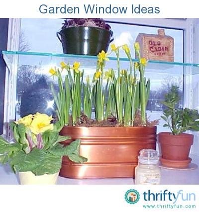 Garden Window Ideas ThriftyFun