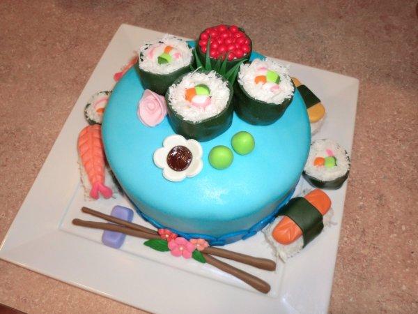 Sushi Cake | ThriftyFun