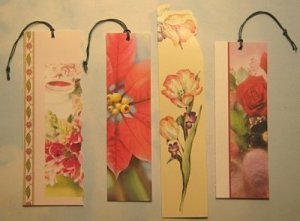 Greeting Card Bookmarks