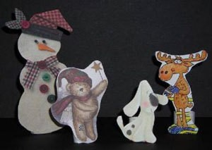 Greeting Card Finger Puppets