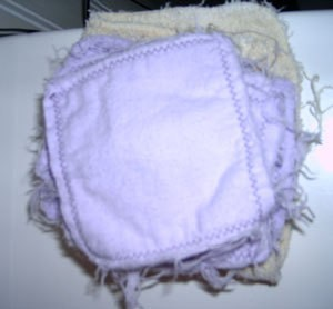 Washable Wiping Squares