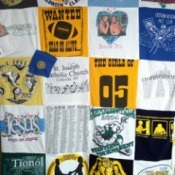 Preserve Memories With A T-Shirt Blanket