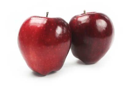 Red delicious apples.