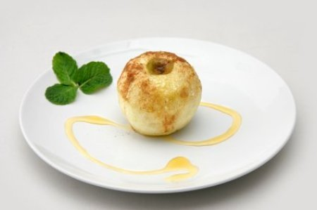 microwaved baked apples