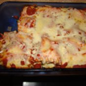 Vegetable Lasagna Rolls