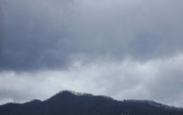 Storm Clouds Over the Mountain (Elizabethton, TN)