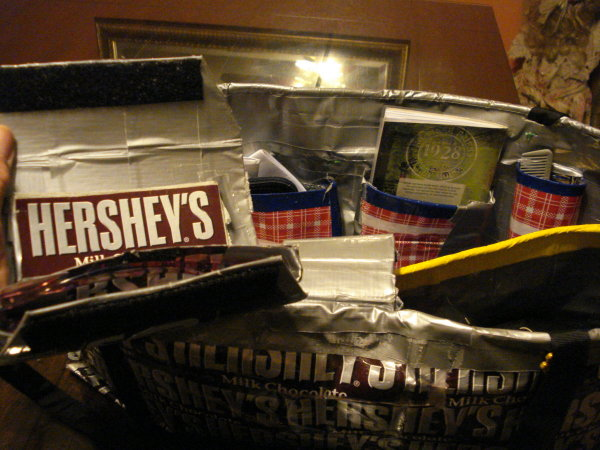 Hershey Bar Wrapper Purse