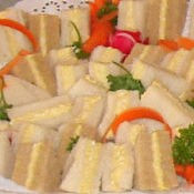 Upclose Tea Sandwiches