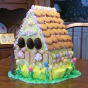 Side view of bunny house.
