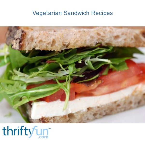 Vegetarian Sandwich Recipes | ThriftyFun